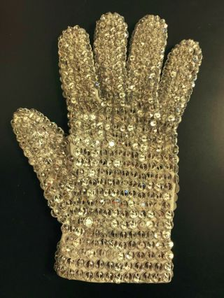 Michael Jackson Worn Crystal Glove 2