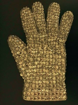 Michael Jackson Worn Crystal Glove 3