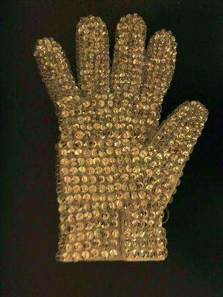 Michael Jackson Worn Crystal Glove 4