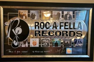 Roc A Fella Records Riaa Plaque