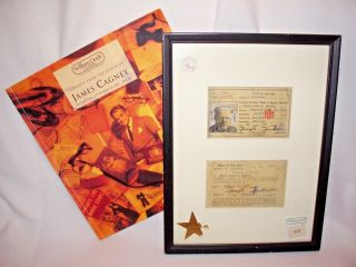 James Cagney Yankee Doodle Personal License To Carry Pistol /gun W Signature