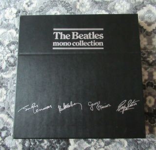 Beatles Rare 1982 Beatles Uk Mono Parlophone Box Set In