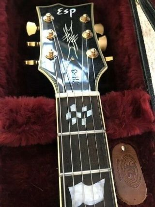 Rare ESP Guitar James Hetfield Metallica JH - 3 028 5