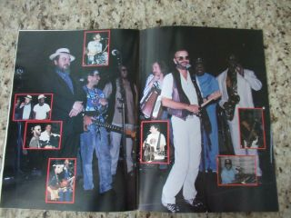 Beatles STUNNING RINGO STARR & BAND SIGNED 1989 U.  S.  TOUR PROGRAM FULL NAME 10