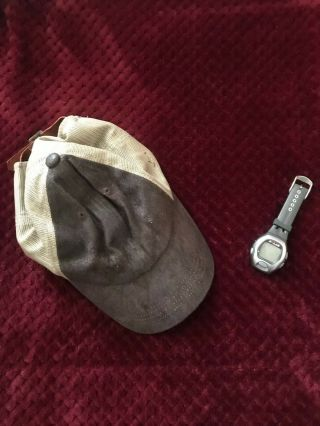 2008 Cap & Watch Worn In The Movie The Incredible Hulk - Edward Norton