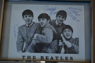 Authenticated Beatles Autographs 1963