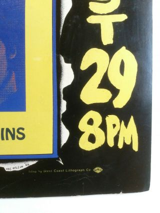 THE BEATLES POSTER August 29,  1966 Candlestick Park,  San Francisco,  CA 2