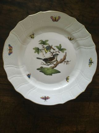 Herend Rothschild Bird China Dinnerware (5 - Piece Place Setting) Set Of Six