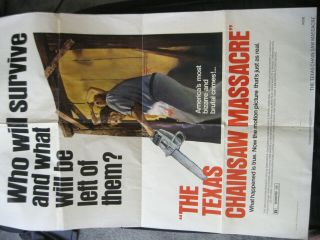 Texas Chainsaw Massacre 1974 Movie Poster