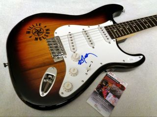 Willie Nelson Autographed Signed Guitar W/ Jsa -