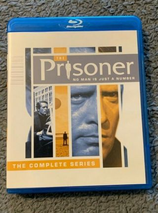 The Prisoner 1967 Tv Show Blu - Ray Set Full Season