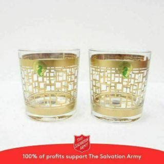 2x Waterford Crystal Mixology Mad Men Holloway Glasses 116