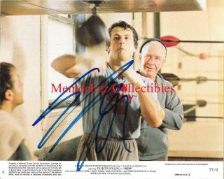 Rocky Sylvester Stallone Signed Autographed 8x10 Color Photo