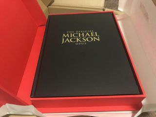 Official Michael Jackson Opus With Glove Nib With Flaws