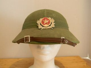 "Nva Long Sleeve Shirt And Pith Helmet Worn In The Hit Film "" We Were Soldiers """