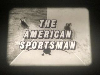 "16mm Tv Show: ""the American Sportsman"",  Abc Network Print,  Commercials"