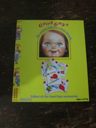 Child's Play Blu - Ray Slipcover Only Chucky Good Guys Scream Factory Rare No Film