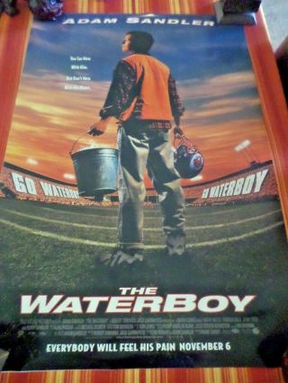 Waterboy Double Sided Movie Poster Adam Sandler