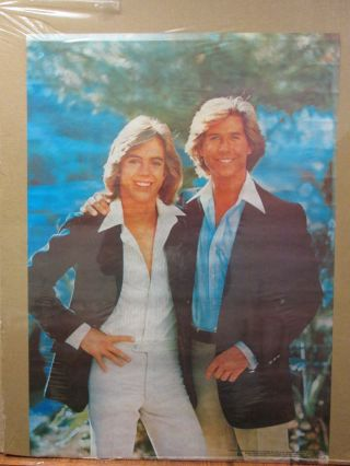 Vintage 1978 The Hardy Boys Tv Show Sleuths Poster 10264