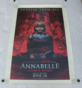 Annabelle Comes Home Main The Conjuring Universe Shelter Movie Poster 4