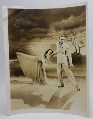 Fred Astaire & Lucille Bremer Dancing 1945 Vintage 8x10  Photo