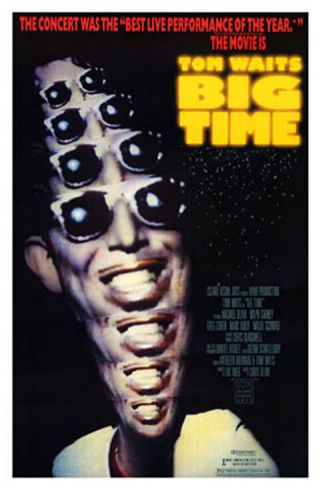 Big Time (1988) Movie Poster - Rolled