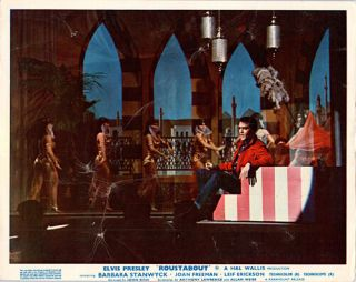 Roustabout V Elvis Presley Seated On Stage During Musical Number