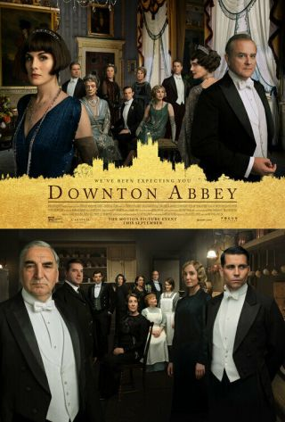 Downton Abbey Movie Poster 2 Sided Version B 27x40 Michelle Dockery