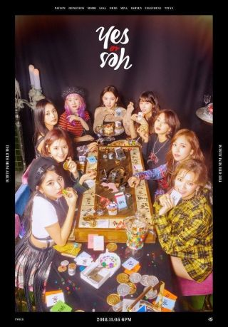 [pre - Order] Twice 6th Mini,  Yes Or Yes: Full Package,  Poster Opt,  Tracking,