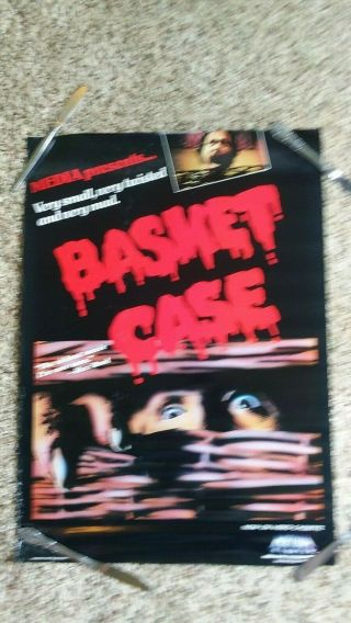 1983 Basket Case Video Movie Poster