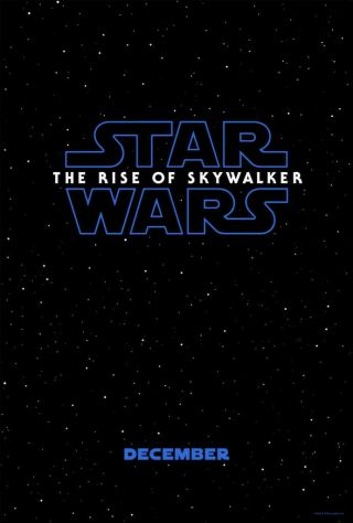 The Rise Of Skywalker Official Teaser Poster Ds 27x40