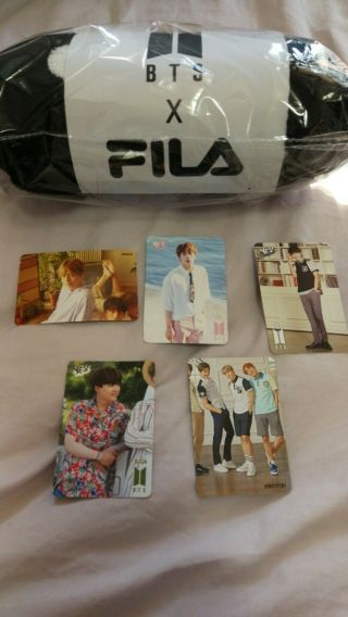 "Bts X Fila World Tour Love Yourself Speak The Final Concert "" Official Blanket """