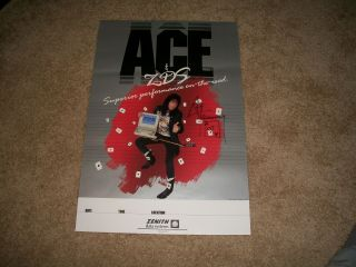 Kiss Ace Frehley Signed