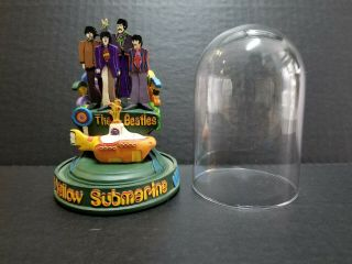 """1997 The Franklin """" The Beatles Yellow Submarine """" Limited Wind - Up Figurine"""