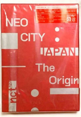 Nct 127 Neo City Japan The Origin 3 Dvd Pack Limited Photo Book