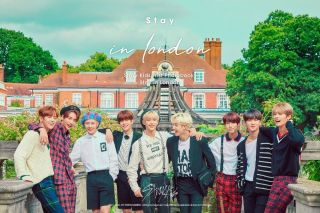 Stray Kids - Stay In London 325p Photobook,  Dvd,  Po Benefit,  Gift,  Tracking No.