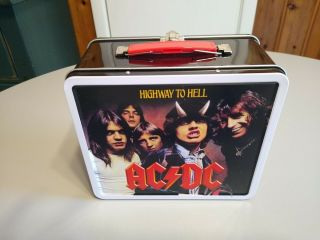 Ac/dc Lunchbox Angus Young,  Bon Scott Highway To Hell Not Kiss Funko Pop