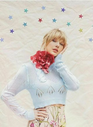 Taylor Swift Collectible Limited Edition Me Lithograph With Stars