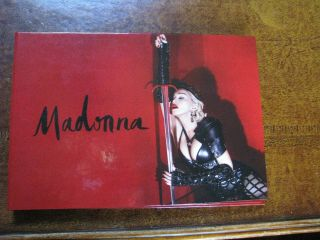 Madonna Rebel Heart Tour Vip Book - With C.  O.  A Numbered Limited Edition