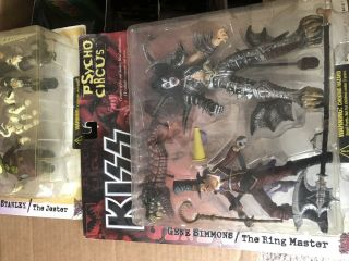 Kiss Deluxe Psycho Circus Doll Set Of 4 Action Figures Mcfarlane 1998