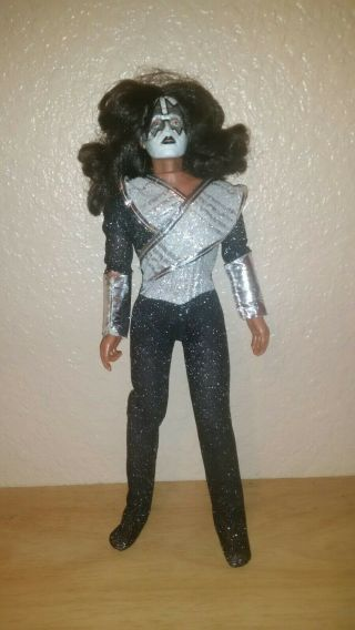 Kiss Ace Frehley Doll Mego 1977 No Box