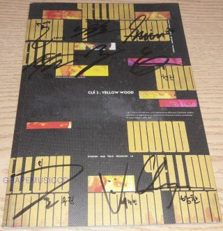 Stray Kids Clé 2 : Yellow Wood Yellow Wood Ver.  Real Signed Autographed Promo Cd