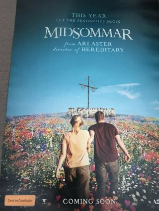 Midsommar Advance One Sheet Movie Poster Ari Aster