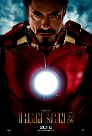 Iron Man 2 - Ds Movie Poster - D/s 27x40 Intl Advance