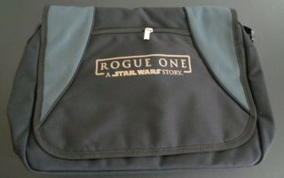 "Rogue One A Star Wars Story Movie Promotional Messenger Bag 17 X 12 "" 2016"