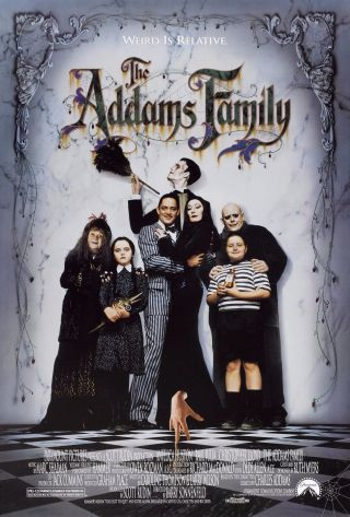 The Addams Family (1991) Movie Poster - Rolled