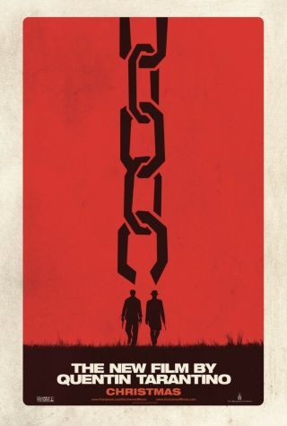 Django Unchained - Advanced Teaser Movie Poster 27x40