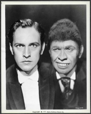 Horror Dr Jeyll And Mr Hyde Mgm Promo Photo Fredric March R72