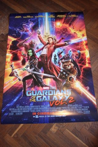 Guardians Of The Galaxy - Vol.  2 (2017) - Poster 27x40 Ds