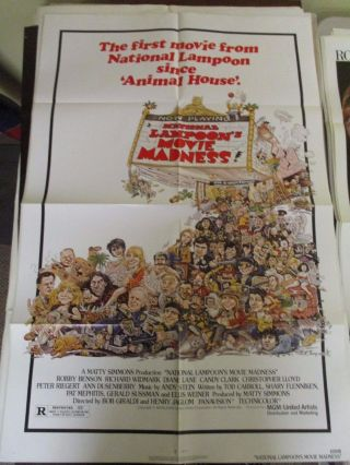 Vintage 1 Sheet 27x41 Movie Poster National Lampoon